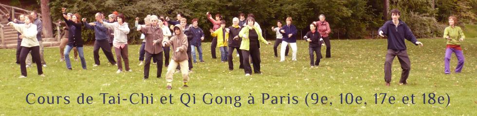 Cours de Tai-Chi et Qi Gong
